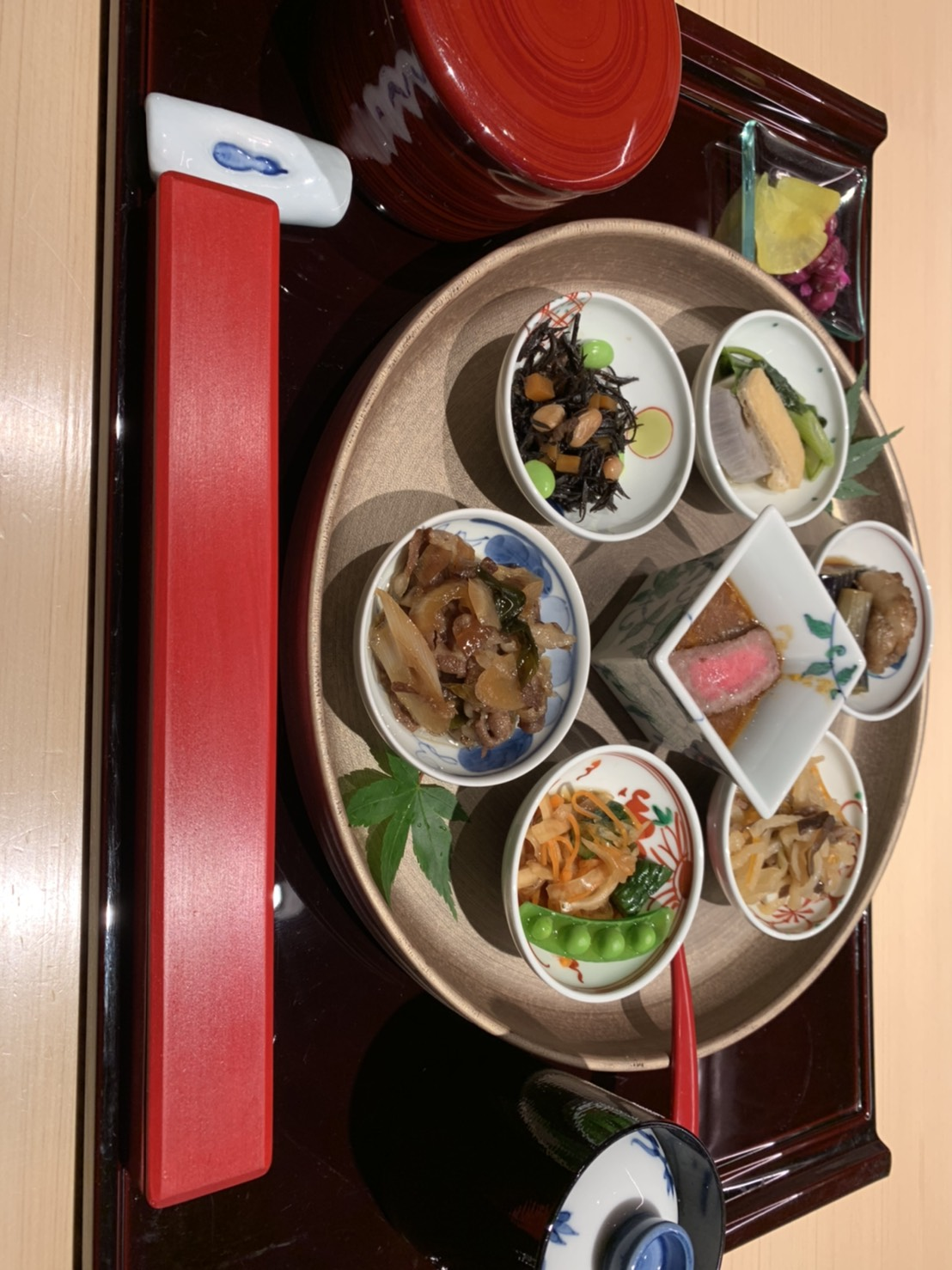 近江牛と京のおばんざいランチ【 限定5食 】
