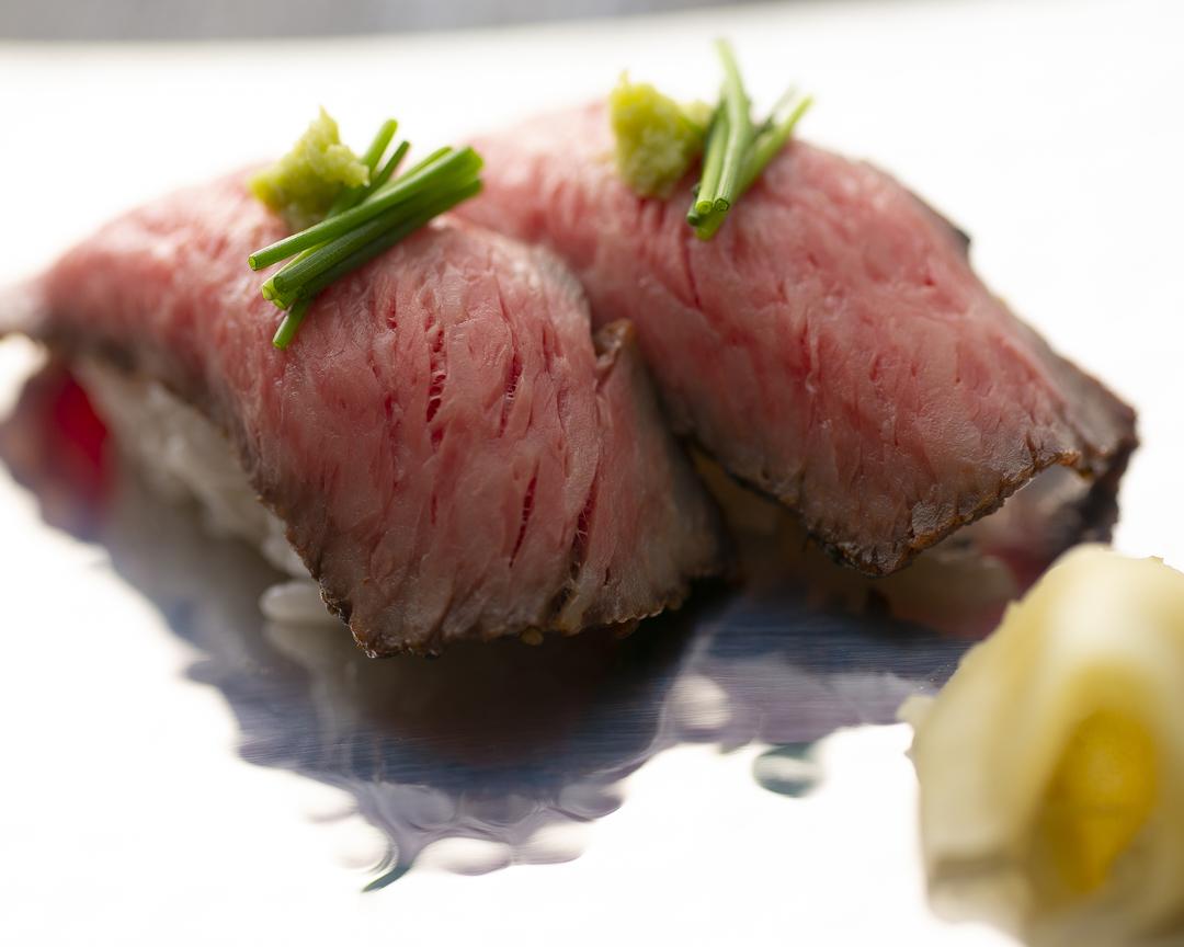 つゆしゃぶ+近江牛寿司ランチ