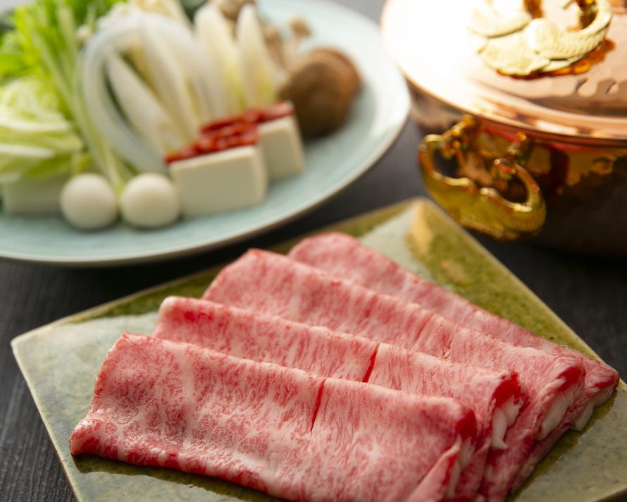 【2階お座敷】近江牛とおばんざいを楽しむ宴会『近江牛しゃぶしゃぶ』